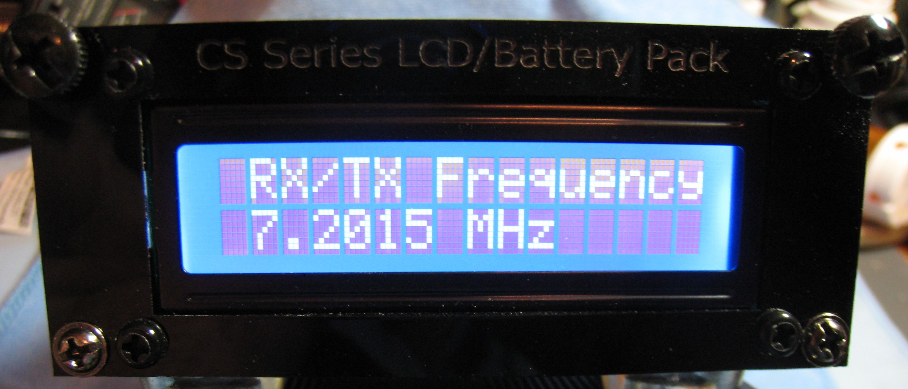 Frequency Display for CS-Series