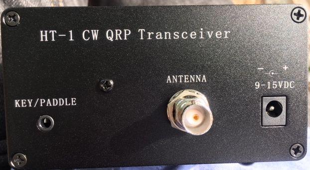 QRVTronics com, HT-1 CW